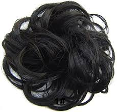 ribbon ponytail beauty wig world scrunchie bun up do hair hair ribbon