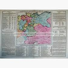 geographical map of germany geographical and statistical map of germany 1828 kittyprint