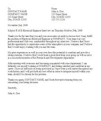 best ideas of examples of good thank you letters after an