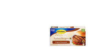butterball seasoning original seasoned frozen turkey burgers butterball