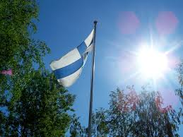 Finnish Flag Ode To Finland Went Looking