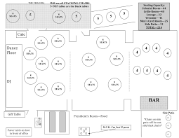 wedding floor plans floor plans colonial country club