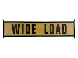 Oversize Load Flags Ez Hook Wide Load Sign U2013 Oversize Warning Products