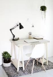 Wooden Legs For Table Diy Concrete Desktop With Wooden Legs