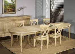 table ovale avec rallonge table ovale 170 110 en chêne massif de style louis philippe