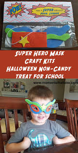moments that take my breath away super hero mask craft kit from