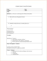 sample lesson plan template soap format college