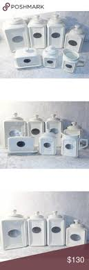 thl kitchen canisters stainless steel tea canisters and gourmet sugar kitchen