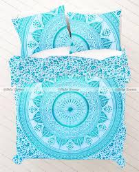 Tapestry Duvet Blue Ombre Mandala Tapestry Stores Duvet Cover