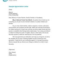 sample recognition letter template best business template for