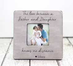 Gift For Dad by Christmas Gift For Dad Father Daughter Gift Personalized Frame