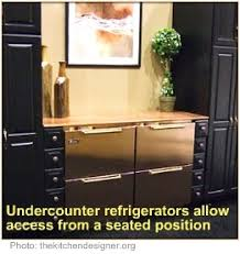 wheelchair accessible kitchen under counter refrigerator i don u0027t