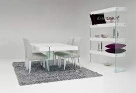 Contemporary Dining Room Tables Download Modern White Dining Rooms Gen4congress Pertaining To