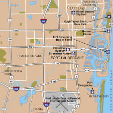 map of ft lauderdale fort lauderdale international airport airport maps