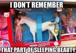 Sleeping Beauty Meme - i dont remember that part of sleeping beauty fail memes