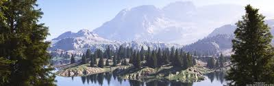 fir tree mountain by massi san on deviantart