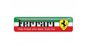 ferrari logo png only those who dare truly live