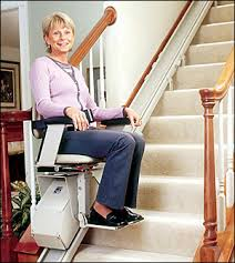 straight stairlifts and stair lift installation in california