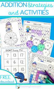 best 25 addition activities ideas on pinterest teaching