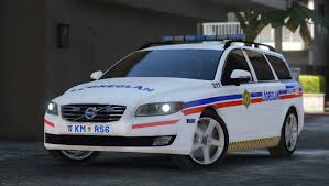 volvo v70 iceland police lögreglan volvo v70 gta5 mods com