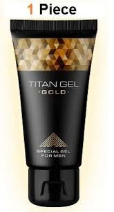 1 piece titan gel gold for men guaranteed original from russia gel