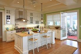 White Kitchen Island With Natural Top by Kitchen Room Design Brightly White Natural Quartzite Wall Tile