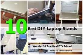 10 best diy laptop stands