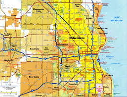 Interstate Map Of United States by Highways And Roads Map Of Milwaukee Cityfree Maps Of Us