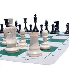 amazon com we games compact tournament chess set with green