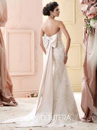 wedding dresses with bows david tutera lauderdale wedding gowns prom dresses