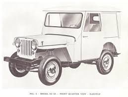 safari jeep drawing dj3a pictures from 1956 62 71 parts lists u2013 jeep surrey