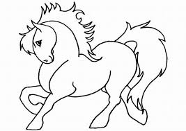 horse color sheets print free printable horse coloring pages