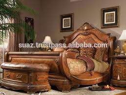 king size wood double bed solid wood bedroom bed latest double bed