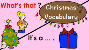christmas lesson what u0027s that english speaking practice esl