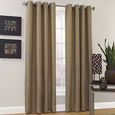 95 Inch Curtain Panels Vue Maddox Grommet Curtain Panel 95 Inch Chagne