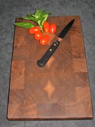 end grain cutting board making kitchen tools walnut butcher block