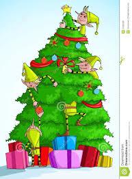 decorating tree stock vector image 27592226
