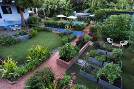 raised bed vegetable garden picture of casa nawalli sayulita