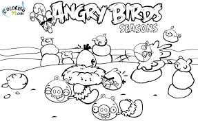 angry birds season coloring pages 421251 coloring pages free