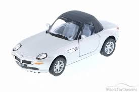 bmw diecast model cars bmw z8 top convertible silver kinsmart 5022 2d 1 36