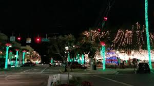 christmas lights ocala fl florida christmas lights downtown ocala marion county youtube