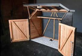 How To Build A Small Backyard Storage Shed by Bicycle Storage Solutions Momentum Mag