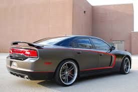 dodge charger with 794rs in satin charcoal hre performance wheels
