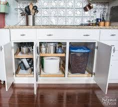 space hacker diy slide out shelves kitchen shelves shelving