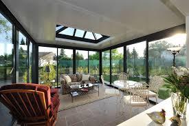 vitrage toiture veranda véranda modèle verandome prisme créations