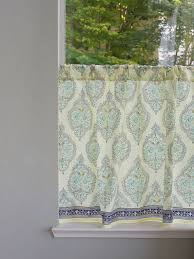 Kitchen Tier Curtains Cool Blue Cafe Curtains Decorating With Blue And White Cafe