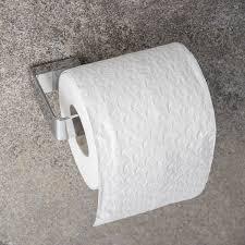 Toilet Roll Holder Wall Mounted Slim Toilet Roll Holder Home Treats Uk