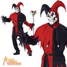 age 8 16 boys krazed jester costume mask halloween fancy dress jester fancy dress ebay