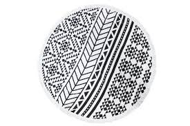 fabricant serviette de plage serviette de plage ronde en microfibre de 150cm de diamètre