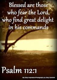 daily inspiration bible verses fear